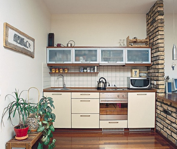 Q. I Wish My Kitchen Had More Space. I Have Very Little Counter Space And  What I Do Have Is Totally Being All Used Up. I Have Some Cabinets That Hold  My ...