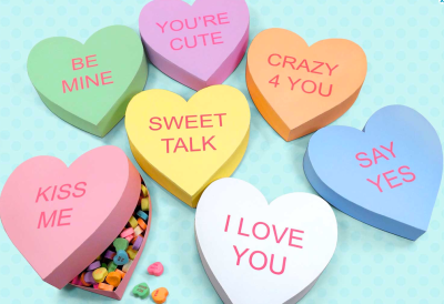 Conversation Hearts Gift Boxes