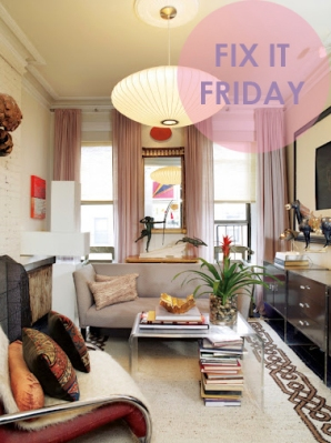 Fix It Friday Small Spaces