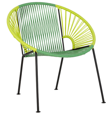 Green tonal chair