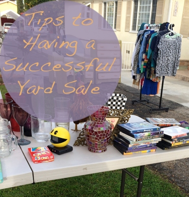 Tips to having a successful yard sale